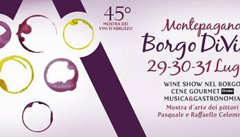 45° edizione di Montepagano Borgo DiVino