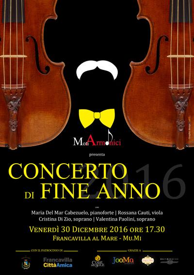 Concerto di fine anno 2016 francavilla