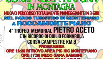 4° edizione del Memorial Pietro Aceto e in ricordo di Duilio Fornarola