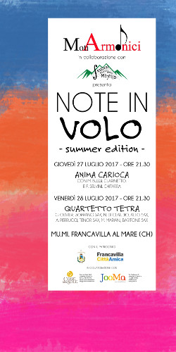 note in volo summer2